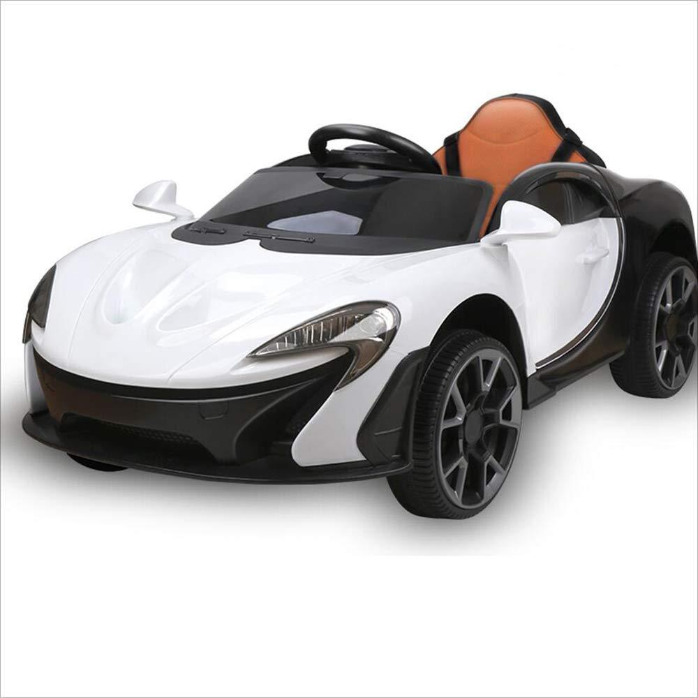 Kinder elektrische Schaukel Auto Fernbedienung Elektroauto kann sitzen Baby Kinder Spielzeugauto (Schaukel + Musik + Früherziehung + Fernbedienung)