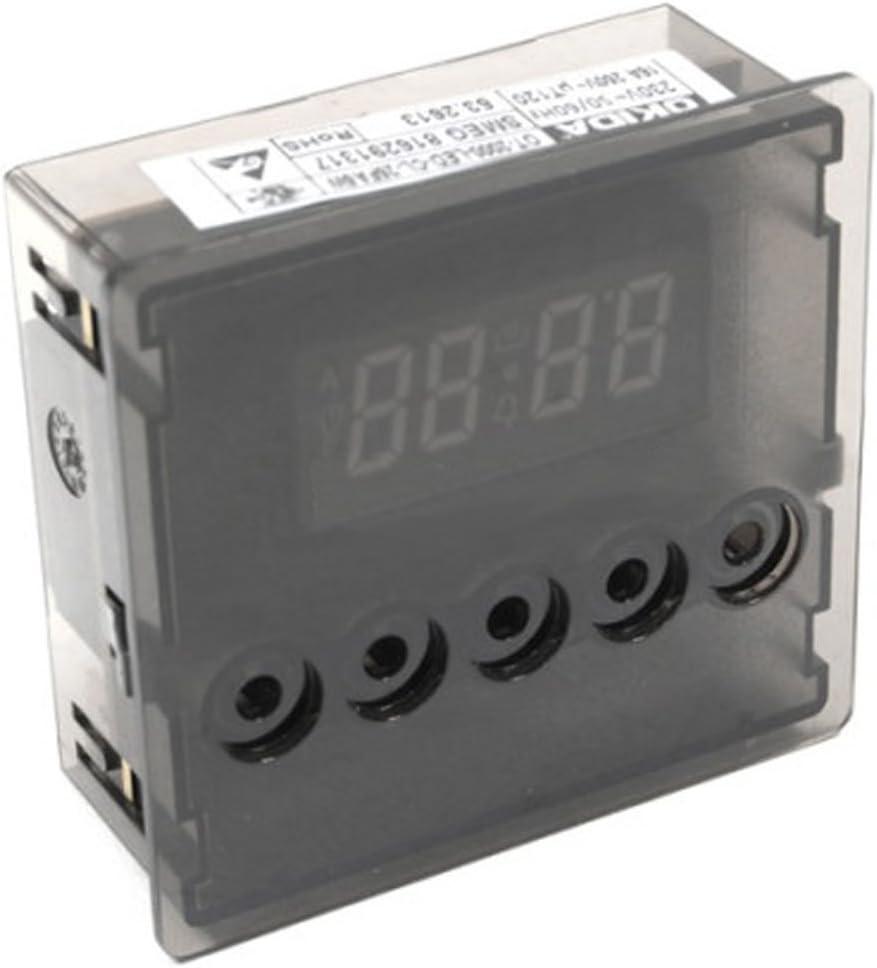 Spares2go 5 Botón Temporizador Reloj para Smeg Horno Cocina: Amazon.es: Hogar