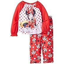 Disney Little Girls' Minnie Mouse Red Dots Sleep Set