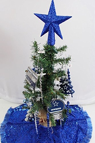 19 nfl dallas cowboy decorative christmas tree