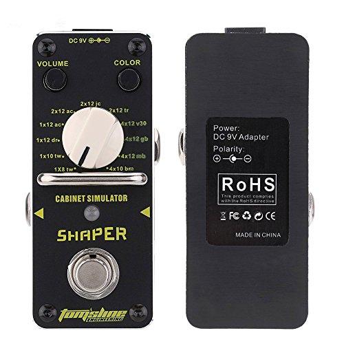 tomsline asr 3 shaper cabinet simulator electric guitar effect pedal new guitar buy online. Black Bedroom Furniture Sets. Home Design Ideas