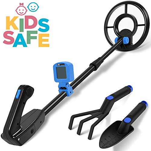 RM RICOMAX Metal Detector for Kids -【7.4'' Waterproof...