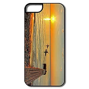 PTCY IPhone 5/5s Designed Funny Sea Kayaking