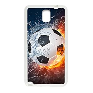 Creative Fire Water Football Custom Protective Hard Phone Cae For Samsung Galaxy Note3