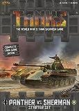 Tanks: Panther vs Sherman Starter Set Board Game