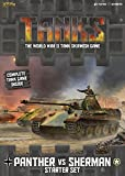 Tanks: Panther vs Sherman Starter Set Board Game