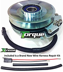 510bJa7Gs6L._SY300_ amazon com bundle 2 items pto electric blade clutch, wire cub cadet pto clutch wire harness repair kit at cos-gaming.co