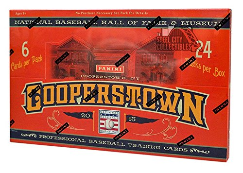 2013 Panini Cooperstown Baseball Hobby Box (Player Cooperstown Red)