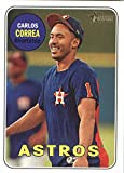 Baseball MLB 2018 Topps Heritage #381 Carlos Correa #381 NM Near Mint Astros