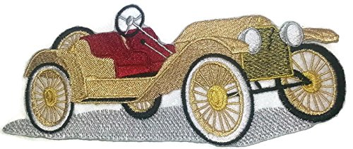 Classic Cars Collection [Stutz Bearcat ] [American Automobile History in Embroidery] Embroidered Iron On/Sew patch [6.49