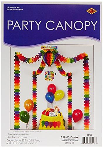 Beistle 55425 Birthday Party Canopy