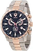 Brillier Men's 16-02 Endurer Rose Gold Chronograph Swiss Quartz Watch by Brillier