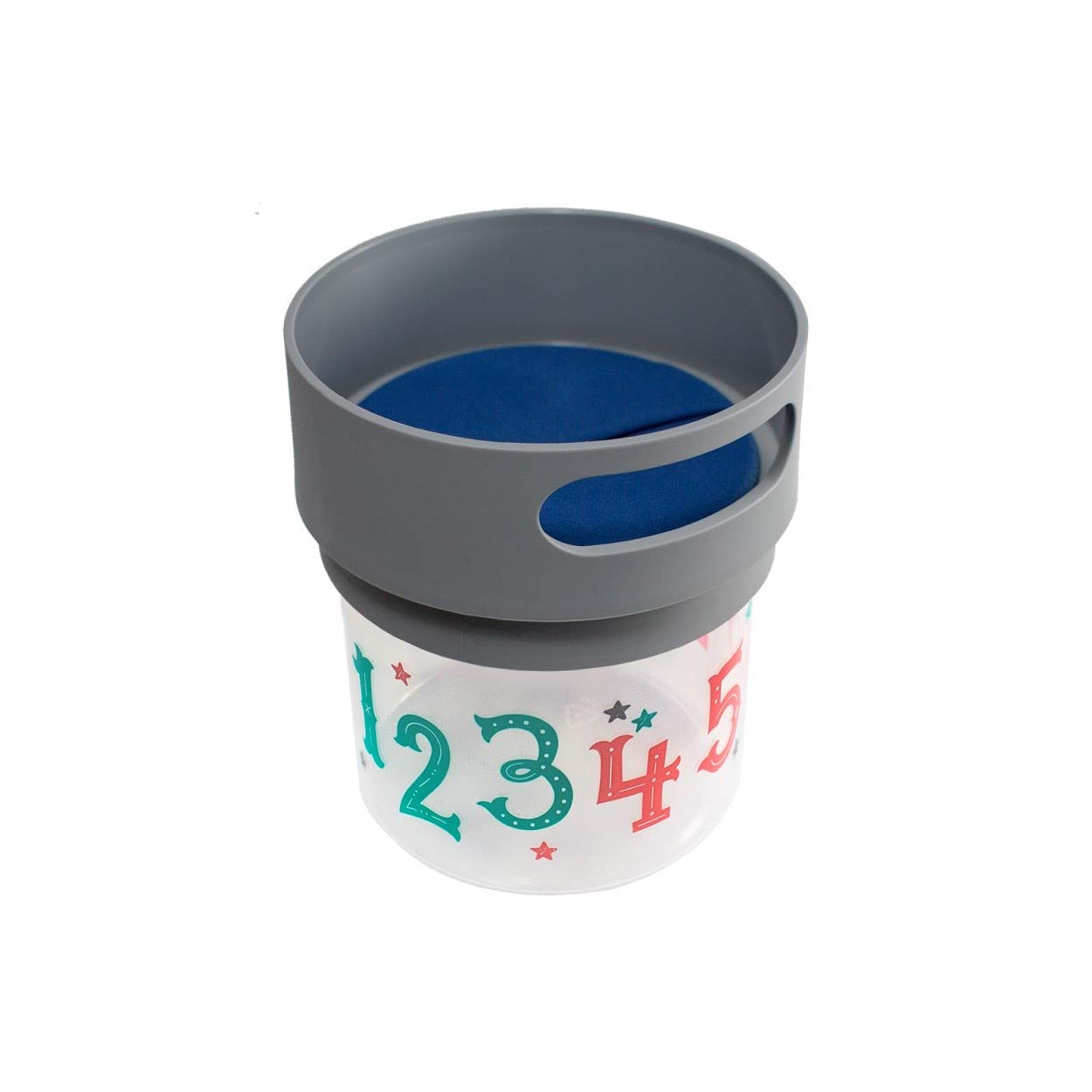 small, 12 oz, Turquoise Munchie Mug Snack Cup