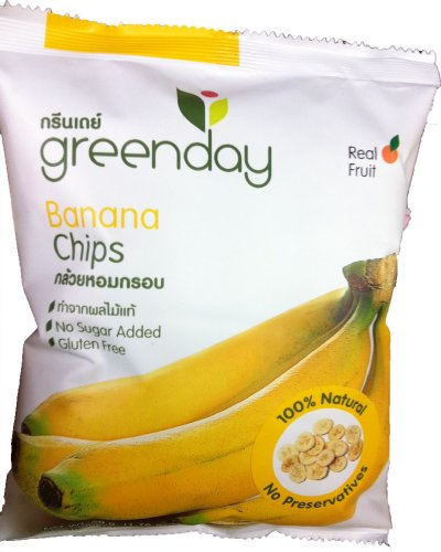 "Greenday Banana Chips""Stylish Healthy Snack"""