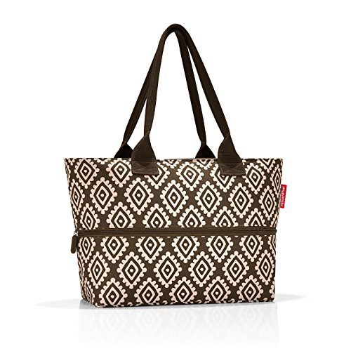 Mocha 18 shopper de plage Diamonds Diamonds cm Reisenthel Marron 50 Sac e1 Marron Mocha liters PxwF4p