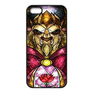 Hipster Beauty and Beast Super Fit iPhone 4/4s Case Pattern Design Solid Rubber Customized Cover Case for iPhone 4 4s 4s-linda985