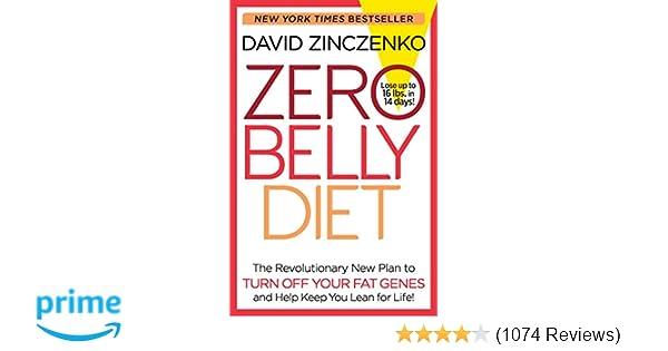 6f9c4b802d22e Zero Belly Diet: Lose Up to 16 lbs. in 14 Days!: David Zinczenko ...