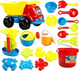 Kid's Beach Sand Toys Baths Pools Set 19PCS