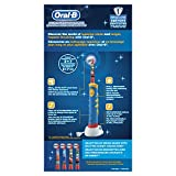 Oral-B Kids Rechargeable Electric Toothbrush featuring Disney Character,For Children 3+ Years, Character May Vary with Pixars Cars or Dory, 1 pack