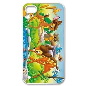 Disney Cartoon Bambi Customize Back Case Suitable for iphone 4 4S JN4S-1698