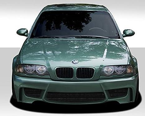 1999 - 2006 BMW Serie 3 E46 1 m cubierta parachoques delantero aspecto DuraFlex - 1 pieza: Amazon.es: Coche y moto