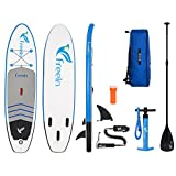 "Inflatable Stand up Paddleboard, All Round 10'2 Long 31"" Wide 6"" Thick Inflatable"