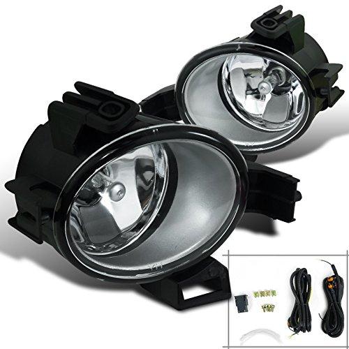 Clear Spoiler Light (Spec-D Tuning LF-ALT06COEM-HZ Clear Fog Light (Kit Lens))