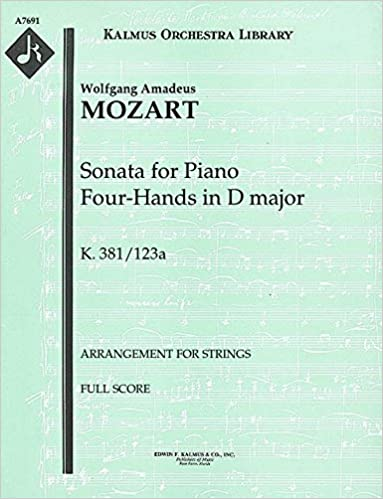 Sonata for Piano Four-Hands in D major, K.381/123a