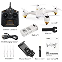 Littleice JJRC JJPRO X3 RC Quadcopters Drone GPS 2.4G 6CH Brushless WiFi FPV 1080P RTF,Compatible Android 4.0.3 or later, iOS 8.0 or Later