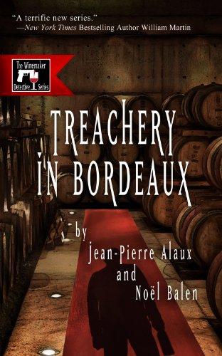 book cover of Treachery in Bordeaux