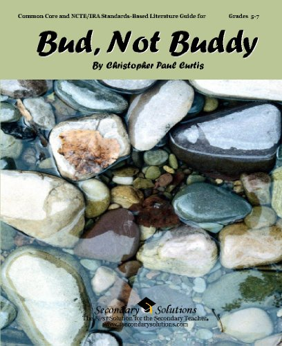 Bud, Not Buddy Teacher Guide - Complete Lesson Unit for teaching the novel Bud, Not Buddy by Christopher Paul Curtis