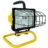 Voltec 08-00209 500-Watt Portable Halogen Worklight, 1-Foot, Yellow & Black