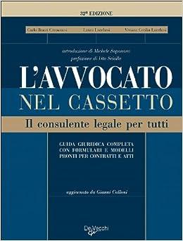 Book L'avvocato nel cassetto. Il consulente legale per tutti