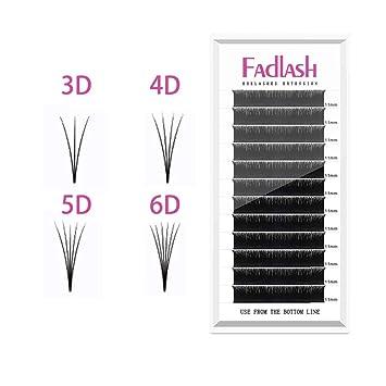 32ab57a2759 Volume Lash Extensions 2D 4D 5D 6D~10D Cluster Lashes D Curl 0.07mm 16mm