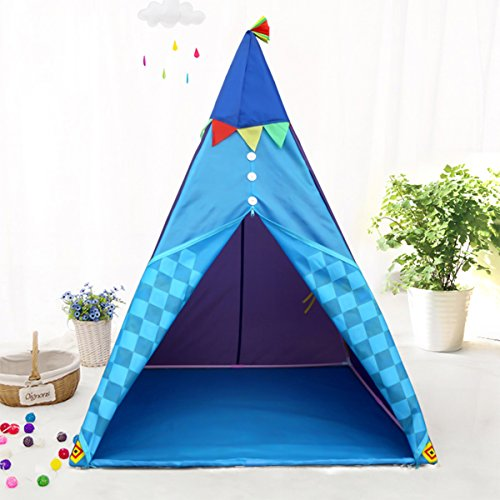 Mehousa Kids Teepee Play Tent For Boys