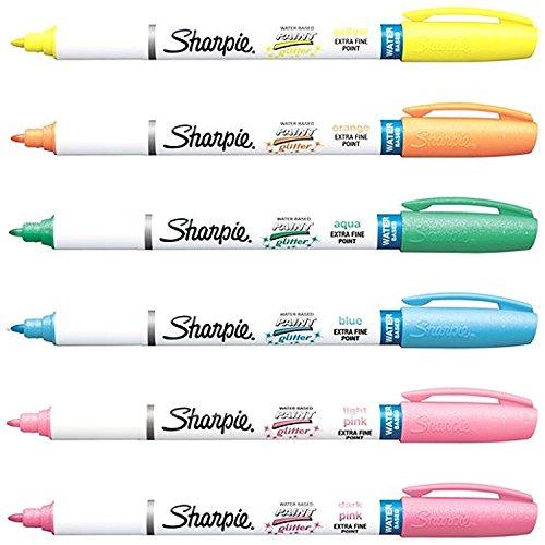 Sharpie Paint Marker Glitter Colors