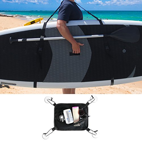 BPS SUP Carry Strap w/ Basic SUP Deck - How To Adjust To Fit Sunglasses