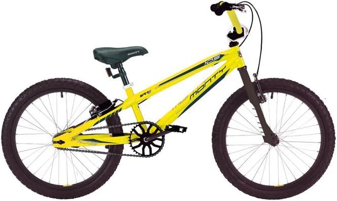 Monty 105 - Bicicleta de montaña para niño, Color Rojo, 9