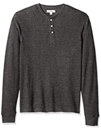 Men's Long-Sleeve Slub Thermal Henley