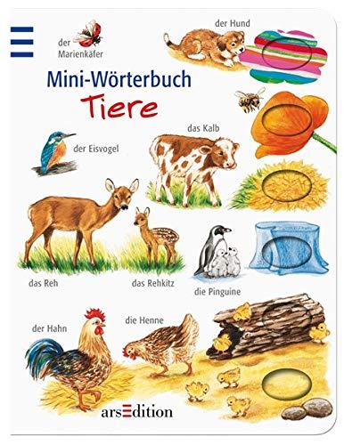 Mini-Wörterbuch Tiere (Bildwörterbuch Mini)