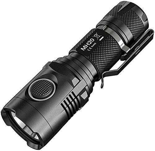 Linternas : Nitecore Mh20 1000 Lumens Flashlight Black