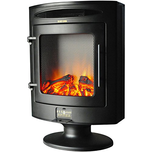 Cheap Hanover Freestanding Electric Fireplace 1500W Black Friday & Cyber Monday 2019