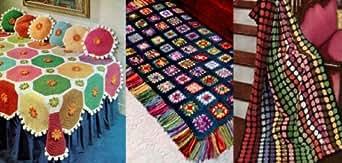 Amazon.com: Patrones ganchillo afganos brillantes y hermosos (Spanish