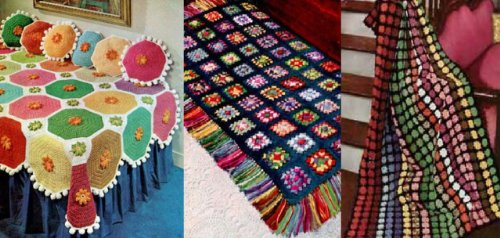 Bright and Beautiful Crocheted Afghan (Crocheted Afghan Patterns)