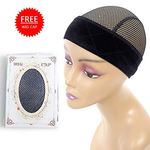 Sekass Flexible Velvet Wig Grip for Holding Your Wig Elastic Comfort Headband Adjustable Black Wig Band