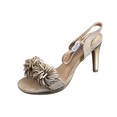 Women Summer Shoes Open Toe Shoes High Heel Shoe