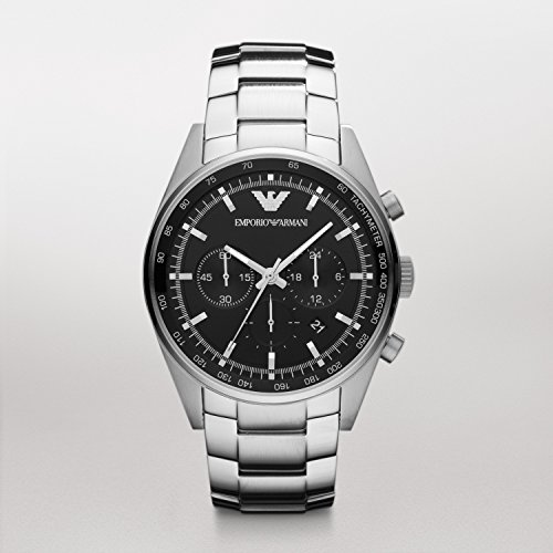 - Emporio Armani Sportivo Men's Stainless Steel Watch AR5980