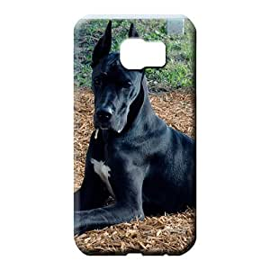 samsung galaxy s6 cell phone carrying skins High-definition Shock Absorbing Fashionable Design great dane