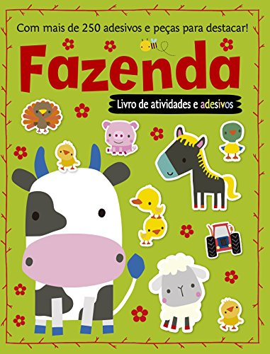 Fazenda: Livro de Atividades e Adesivos