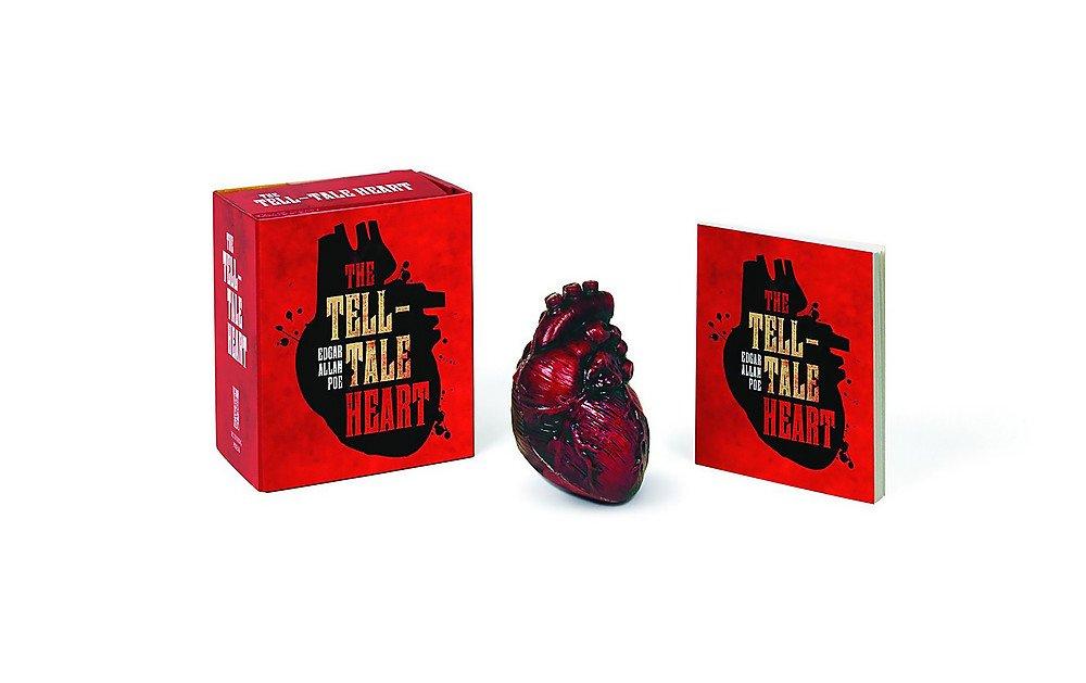 1:12 SCALE MINIATURE BOOK THE TELL-TALE HEART EDGAR ALLAN POE